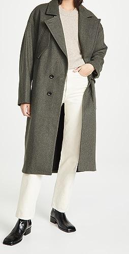 Tibi - 茧型长款大衣