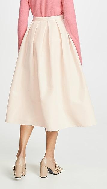 Tibi 宽摆半身裙