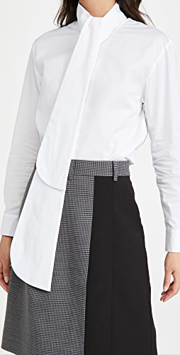 Tibi - Flap Tie Shirt
