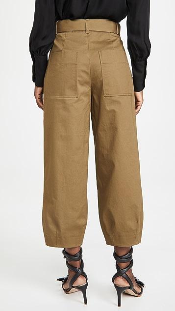 Tibi Stella 九分立体长裤
