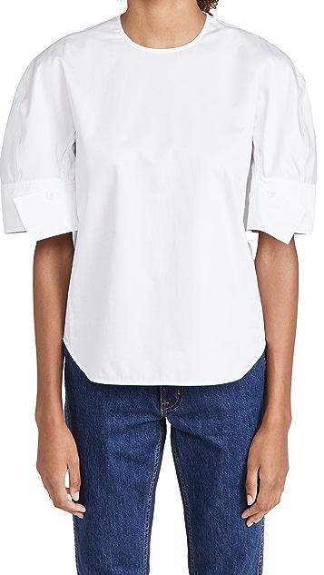 Tibi Reverse Sleeve 上衣