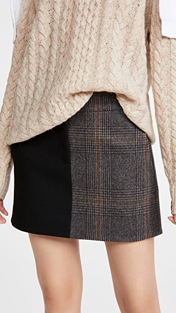 Tibi Mini Trouser Skirt