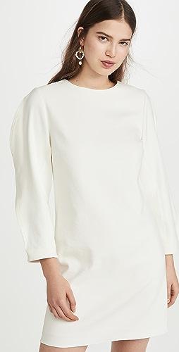 Tibi - 折纸袖直筒连衣裙