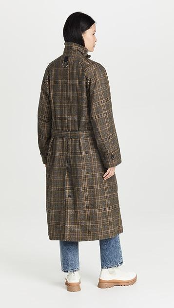 Tibi Grandfather Plaid Frank Coat
