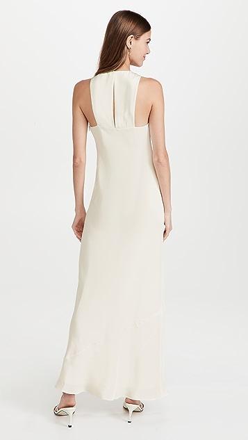 Tibi 4 Ply Silk Bias Dress