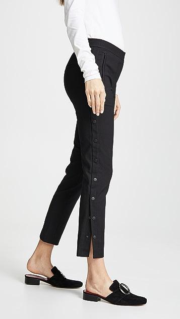 Tibi Cropped Skinny Pant