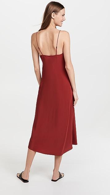 Tibi Eco Silk Slip Dress