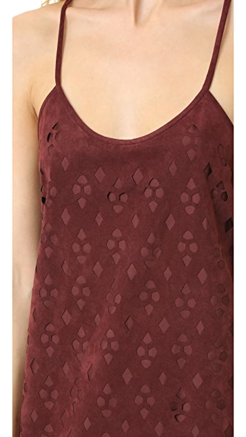 Tibi Aleyda Cutout Slip Dress