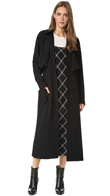 Tibi Soft Trench Coat