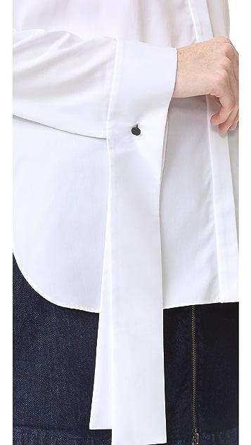 Tibi Tuxedo Shirt