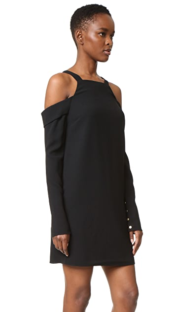 Tibi Cold Shoulder Dress