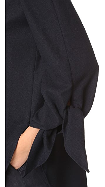 Tibi Off Shoulder Tunic
