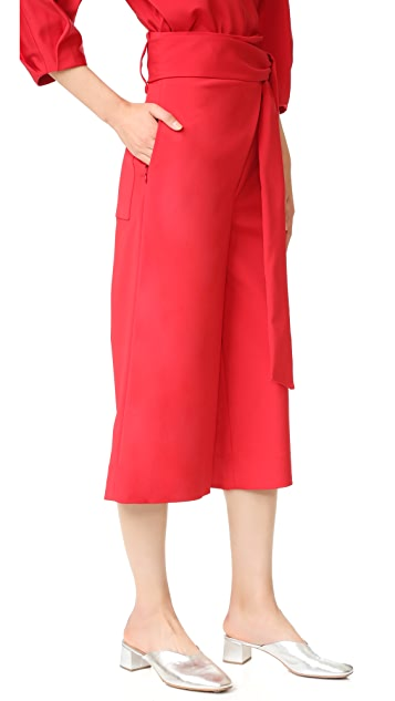 Tibi Pleated Culottes