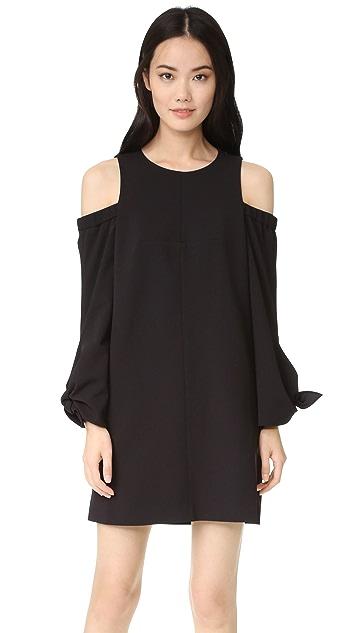 Tibi Cold Shoulder Dress