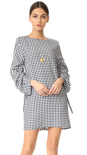 Tibi Boat Neck Dress