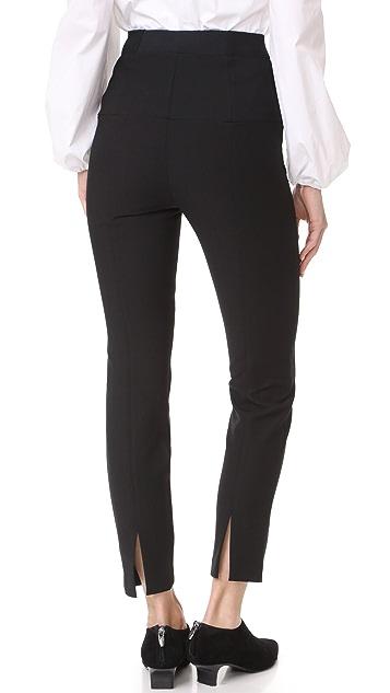 Tibi Corset Skinny Pants