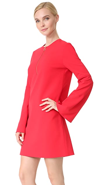 Tibi Zip Front Dress