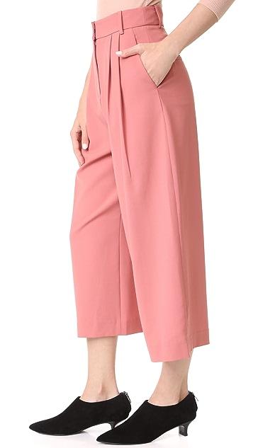 Tibi Stella Wide Leg Culottes