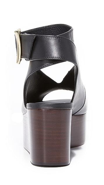 Tibi Camilla Flatform Sandals