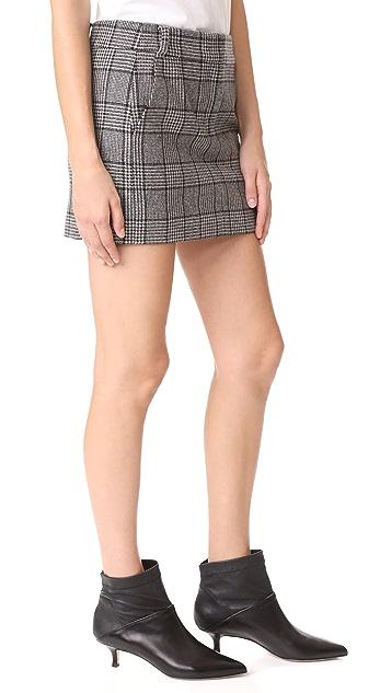 Tibi Aldrige Tweed Mini Skirt