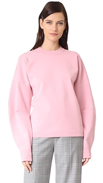 Tibi Sweater with Zip Detail