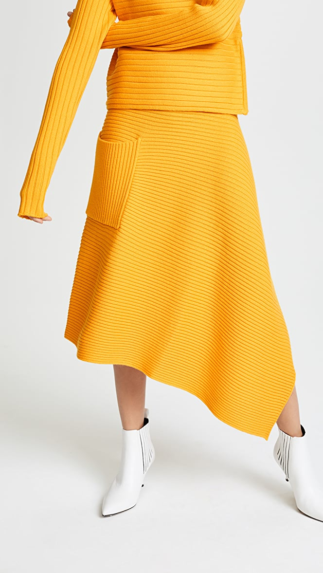 Denim Origami Skirt Salma — Elaine Kim Studio | 1177x664