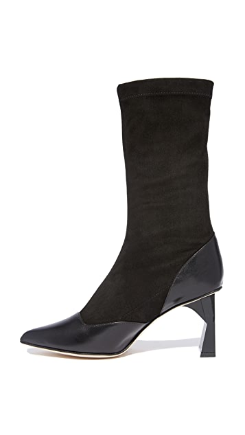 Tibi Felice Sock Boots