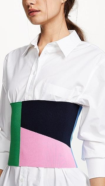 Tibi Knit Tube Waist Corset