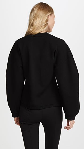 Tibi Sculpted Sleeve Pullover