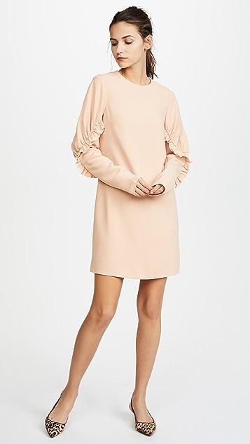 Tibi Short Ruffle Dress