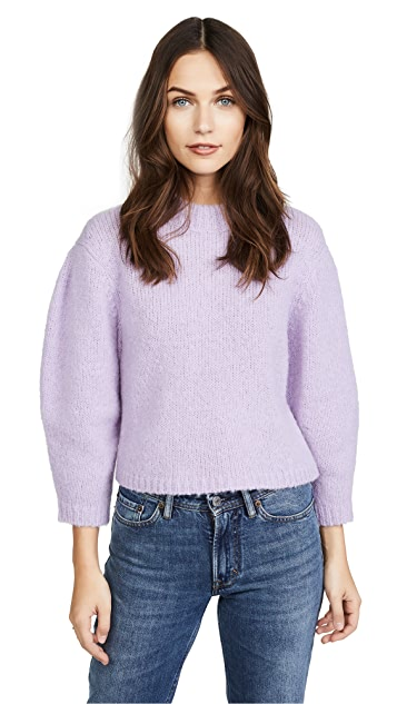 Tibi Cropped Sweater