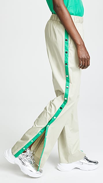 Tibi Side Snap Pants
