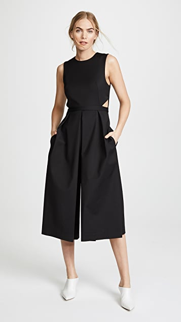 Tibi Cut Out Jumpsuit