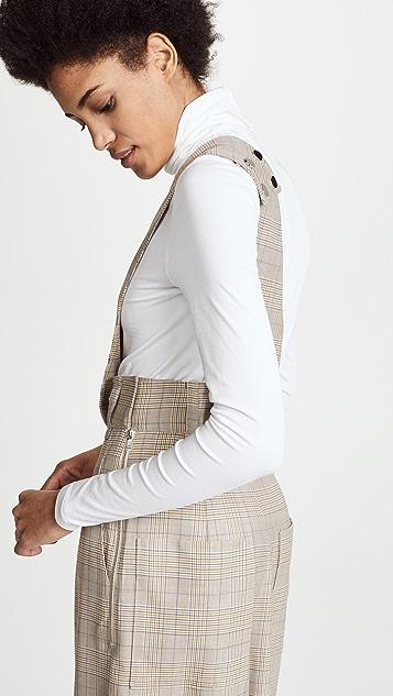 Tibi Cooper Asymmetrical Jumpsuit