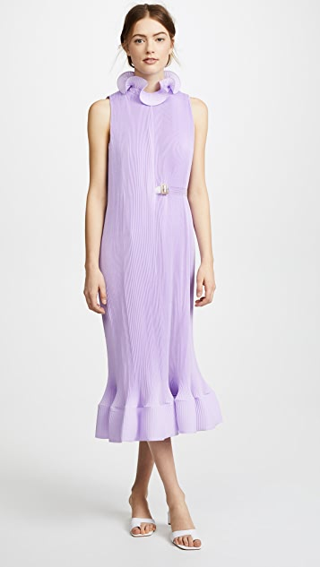 1efcedd6a704 Tibi Sleeveless Dress With Belt