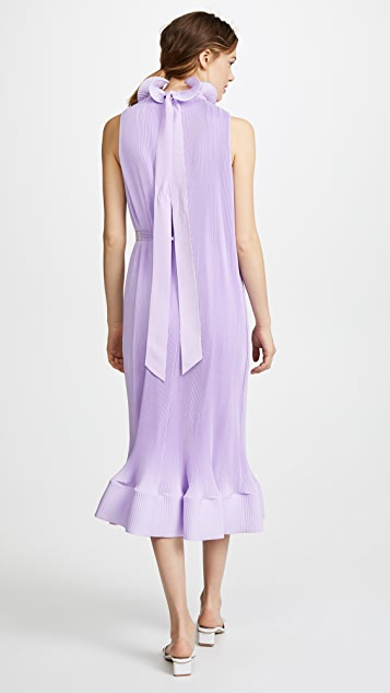 Tibi Sleeveless Dress With Belt