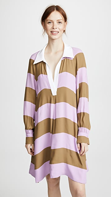Tibi Rugby Dress
