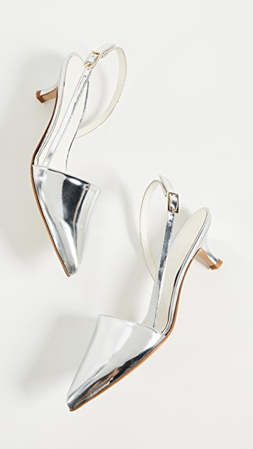 Tibi Simon Slingback Pumps