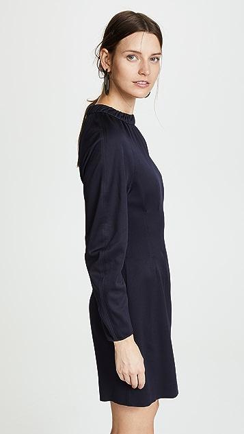 Tibi Corset Waist Shift Dress