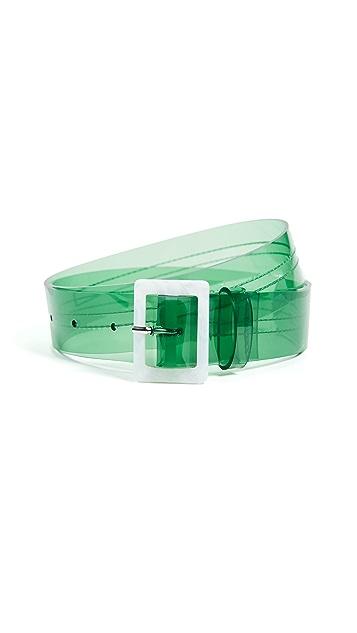 Tibi PVC Belt