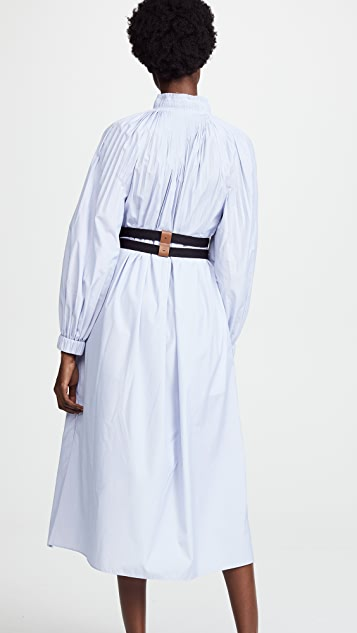 Tibi Isabelle Shirting Dress