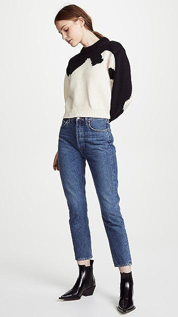 Tibi Intarsia Sweater