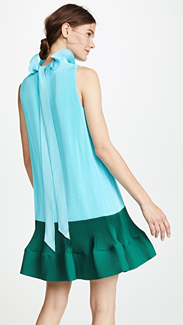 Pleated Dress by Tibi