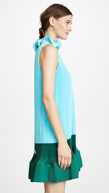 Tibi 褶皱连衣裙