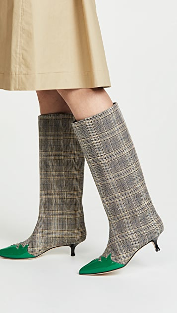 Tibi Evin Boots