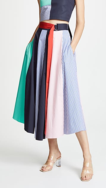 Tie Skirt by Tibi