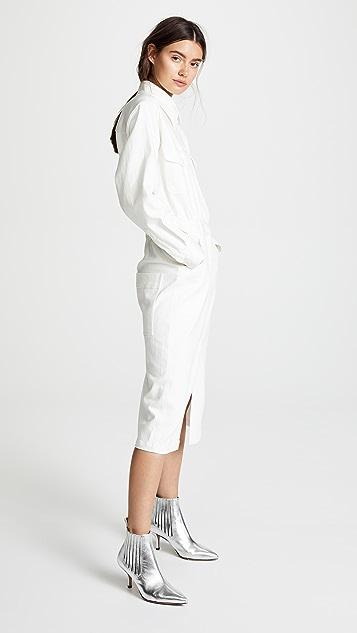 Tibi Pocket Dress