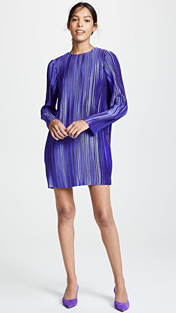 Tibi Plisse Mini Dress