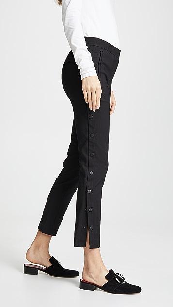 Tibi Укороченные брюки-скинни