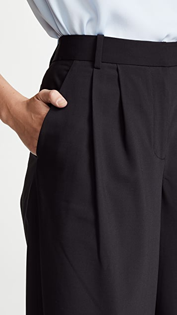 Tibi Edie Wide Leg Pants